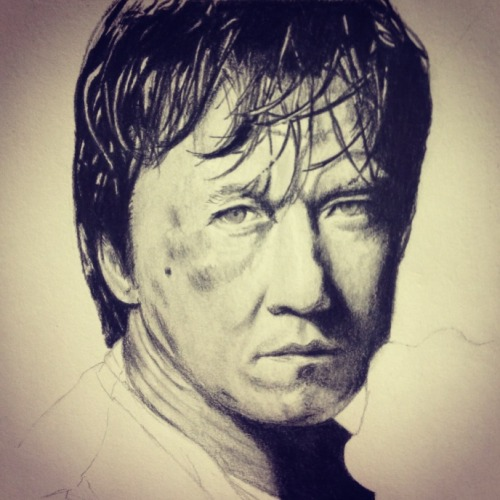[Jackie Chan] Drawing~ Speed Drawing: http://www.youtube.com/watch?v=gv1OKtE_a2s