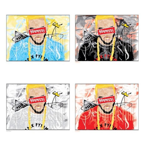 All the colorways #breezy #cb #chrisbrown #character #crown #celebration #portrait #blackpyramid #chain #goldchain #teambreezy #breezyart #illustrator #fun #pyramid #va #virginia #state #blonde #blondestopher #chrisbreezy #fuckyopictures #black #red #gold #babyblue #grey #supreme #colorways #shirt #clothing #artist #singer #album #x