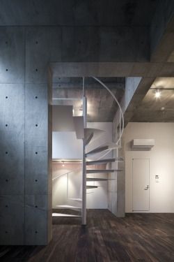Staircase Design By Architects Komada Yuka + Takeshi