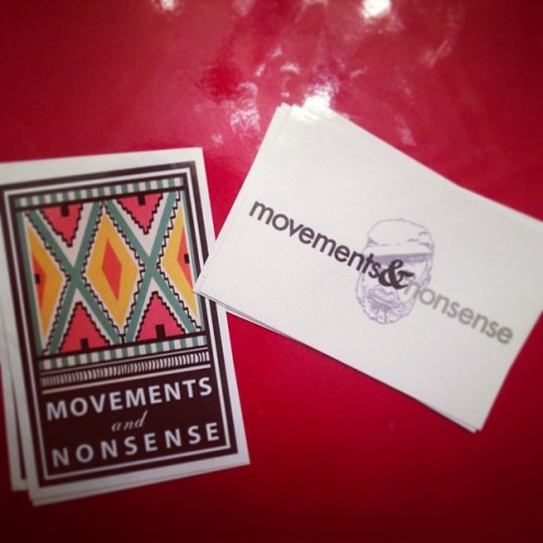 And our #sticker collection expands! #blog #nonsense #music #art #MAN #tribal