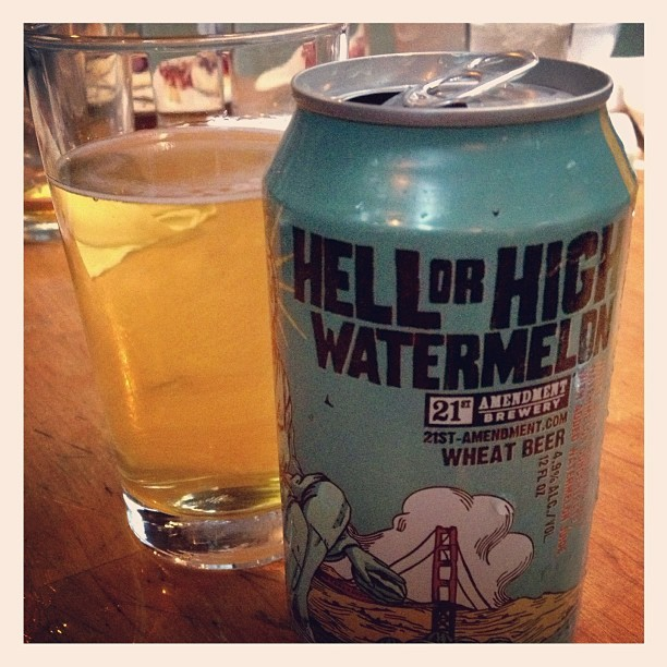 Hell or High Watermelon. (at CK14 - The Crooked Knife)
