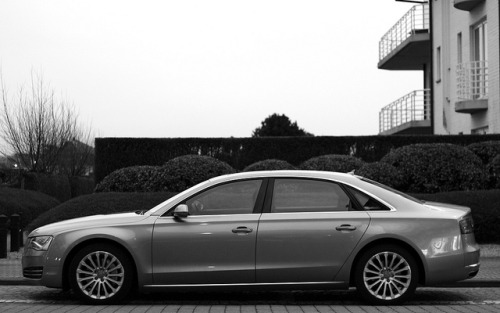 Audi A8 W12. by Tom Daem on Flickr.