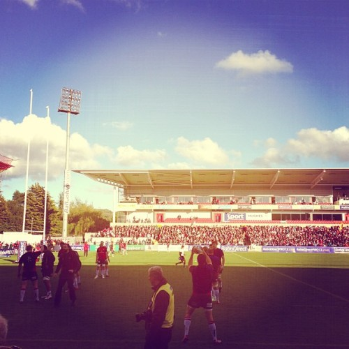 #SUFTUM Let's go Ulster @ulsterrugby - beautiful night! #winwinwin