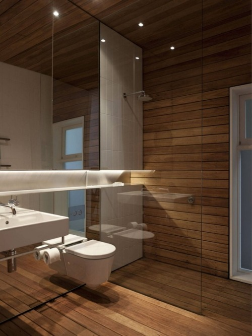 justthedesign:  Bathroom At The Skirt + Rock House by MCK Architects