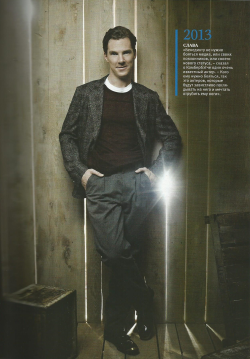 "cumberbuddy:  londonphile:  talalyla:  Magazine ""Gala Биография"" 06/2013 (Russia)  Did J.J. take that photo? :P #benedictcumberbatch  Ray of light coming from his pocket. I wonder what secrets he's hiding in it."