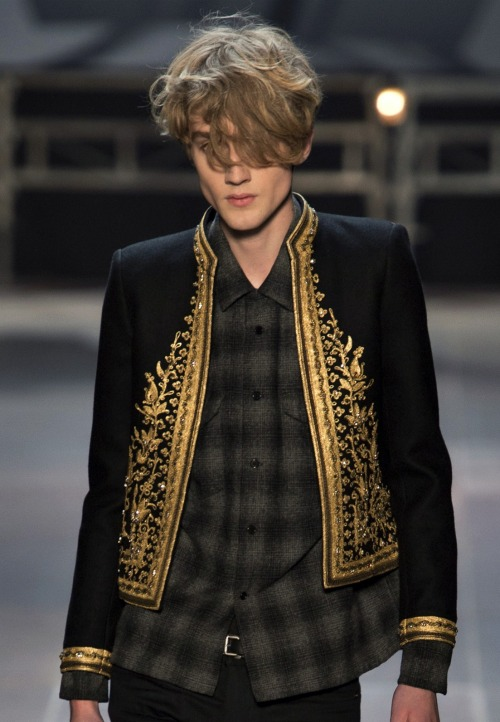 hautekills:  Saint Laurent menswear f/w 2013