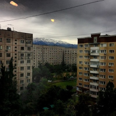 Almaty today (at In Da Houc)