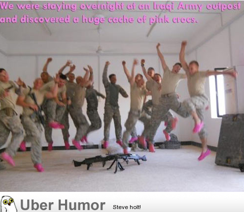 meme-rage:  Being in the army is fabulous!http://meme-rage.tumblr.com