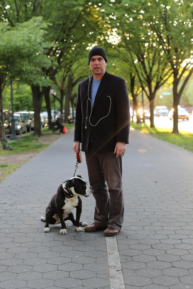 "humansofnewyork:  ""What's your greatest struggle right now?""""Interacting with other people.""""In what way?""""In this way."""