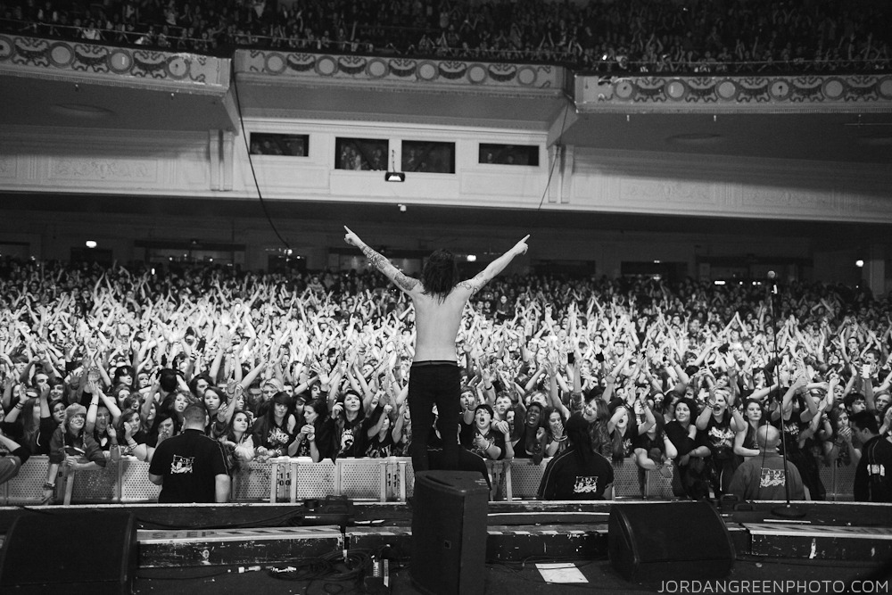Lawrence Taylor / While She Sleeps // Brixton Academy