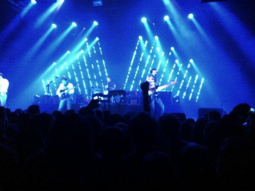 Two Door Cinema Club last night in Toulouse  my life is complete