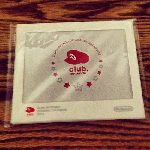 Look what I got in the mail just now. #clubnintendo #nintendo #dsxl