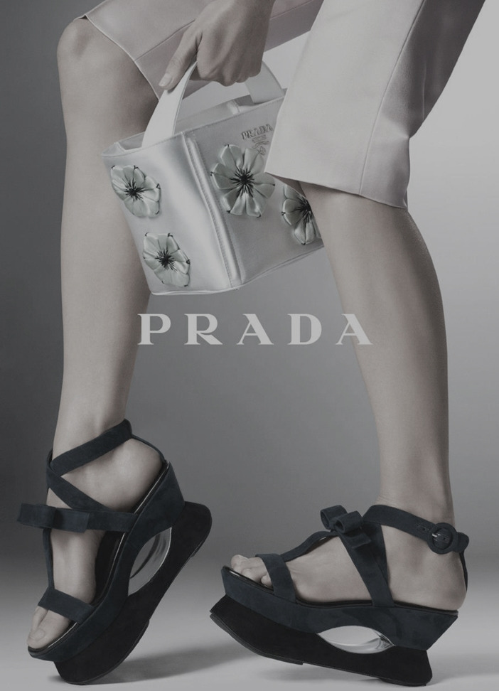 l-acus:  prada shoes for women ad campaign ss '13, shot by steven meisel.