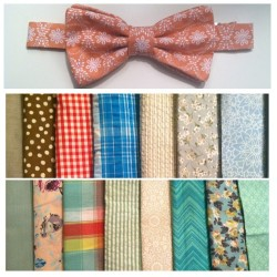 Pre-tied Bowties for sale! $20 for one or $30 for two. Already tied and all you have to do or latch it to be lookin good! If interested or have any questions text me! 678-699-4823