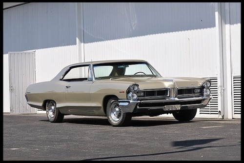 musclecardreaming:  65 Pontiac Grand Prix with 8 lug wheels