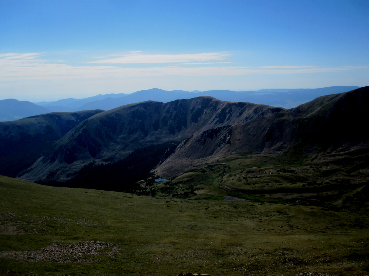 16 days: more from the Williams Lake trail up to Wheeler Peak just outside of Taos, NM.