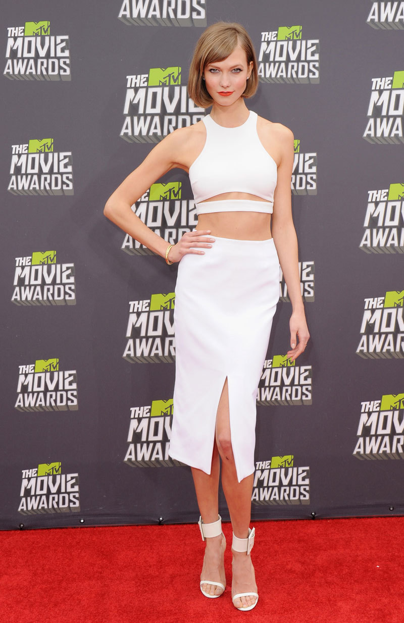 Mr. Blasberg's Best-Dressed List: Karlie Kloss in Cushnie et Ochs