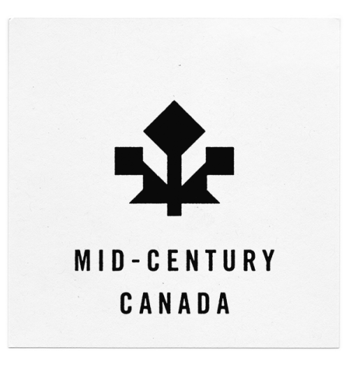 Michael George Haddad's Mid-Century Canada  series offers a Modernist take on Canadian provincial and territorial logos (ht The Canadian Design Resource)