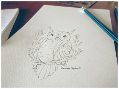owl_3 on Flickr.Commission for a friend of mine