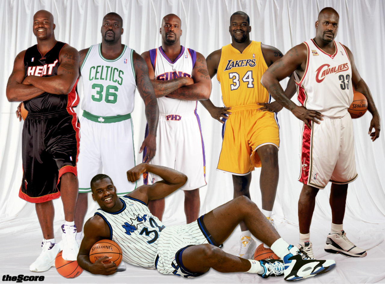 Pic: Happy 41st Birthday, @SHAQ! Here's the Big Diesel x 6: