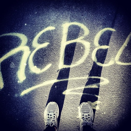 "Rebel against the status quo. Rebel against the urge to be stagnant. Rebel against the eat-work-sleep matrix. Rebel against what's ""impossible."" Be a rebel. Be you. #UndoOrdinary / on Instagram http://instagr.am/p/VrVzATLnHZ/"