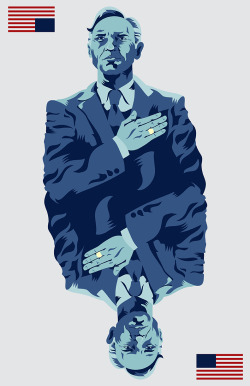 Francis J. Underwood by Derek Eads