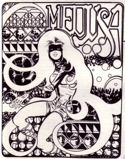 seanhowe:  Medusa by Barry Windsor-Smith, 1970