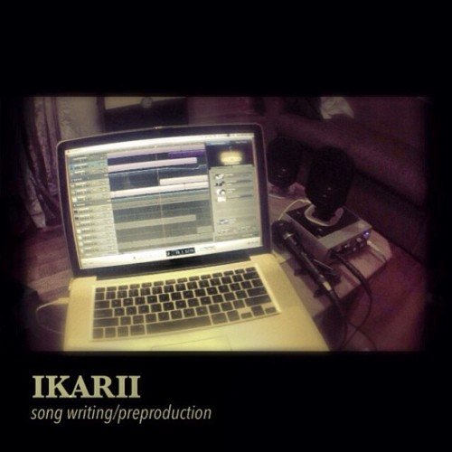 #IKARII #songwriting #garageband #macbookpro #band #music #rock