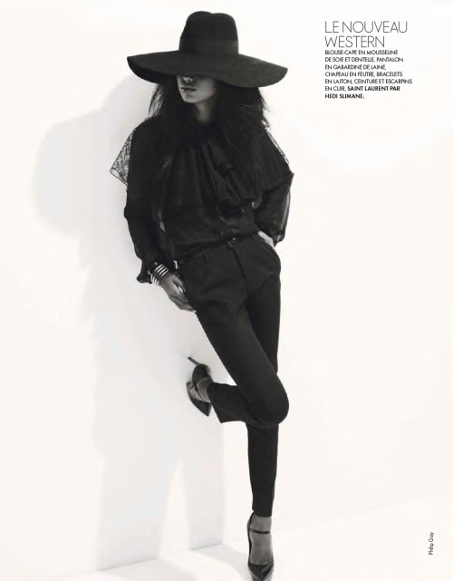 journaldelamode:  Jasmine Tookes by Philip Gay for ELLE France Feb 2013.