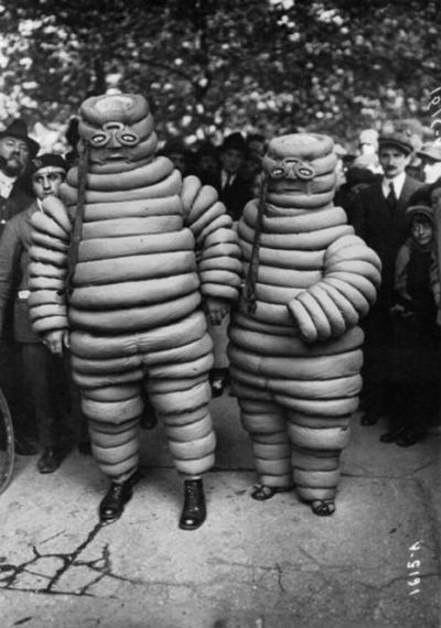 hay-fee:  VINTAGE MICHELIN MAN COSTUMES