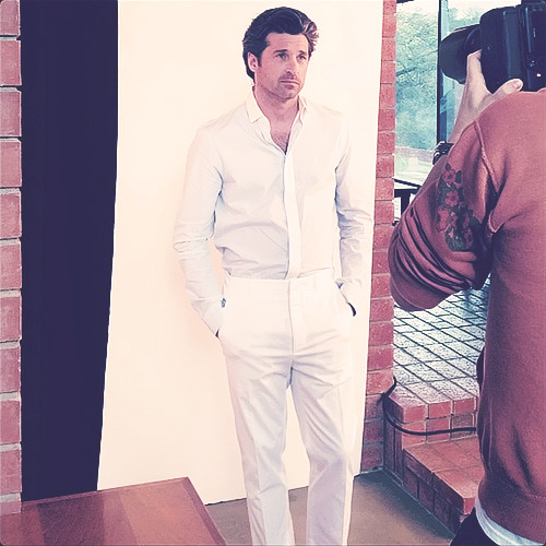 Patrick Dempsey, GQ Italia Cover Shoot, 1/28.