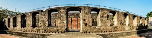 Inside Fort Santiago, Intramuros.