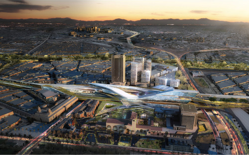 acidadebranca:  #ARCHITECTURE #RENDERINGS Los Angeles, USA | Union Station 2050 | UNstudio SOURCE | 12.05.2013 | 14.19 High resolution renderings (showcase) http://www.skyscrapercity.com/showthread.php?t=1141539