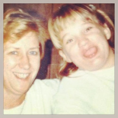 Me and my mama back in the day! I miss you, Mom! <3