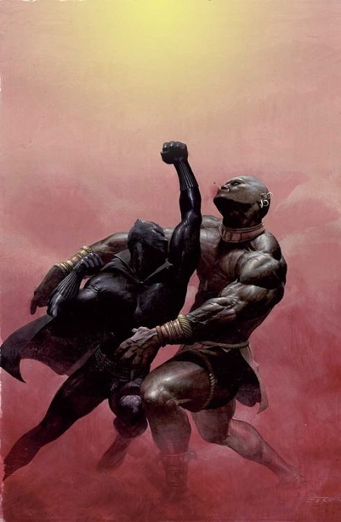Black Panther (2005) #2 by Esad Ribic