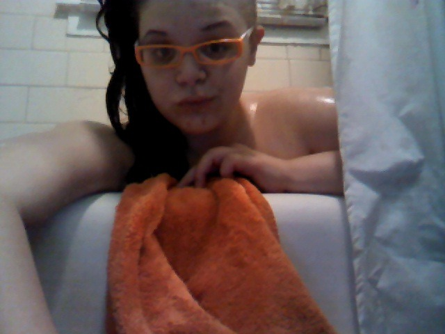 bathtub blogging~