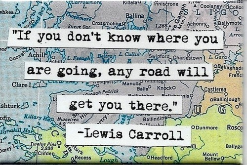 "wanderlustand:  ""If you don't know where you are going, any road will get you there."" - Lewis Carroll"