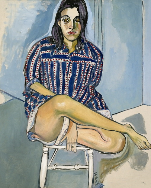 Alice Neel  Nancy, 1966, Oil on Canvas, 127 x 101.6cm
