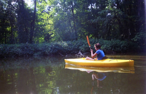 onceuponawildflower submitted: kayaking along the cuyahoga river.