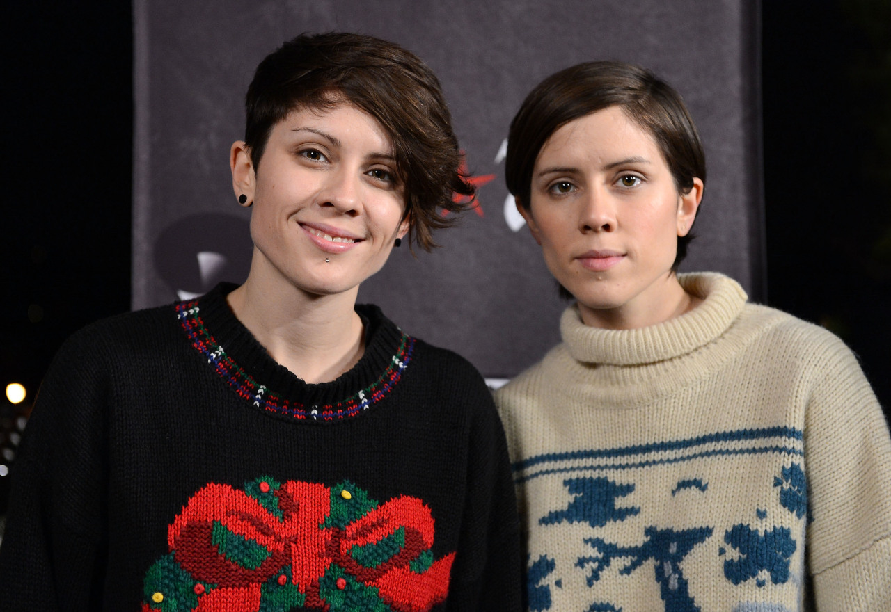 First-Time GRAMMY Nominees: Tegan & Sara Natives of Calgary, Alberta, twin sisters Sara and Tegan Quin are nominated for Best Long Form Music Video for Get Along. Released in conjunction with their 2011 album of the same name, the DVD features two mini-documentaries and an intimate career-spanning live performance filmed in Vancouver, British Columbia. See what they had to say.