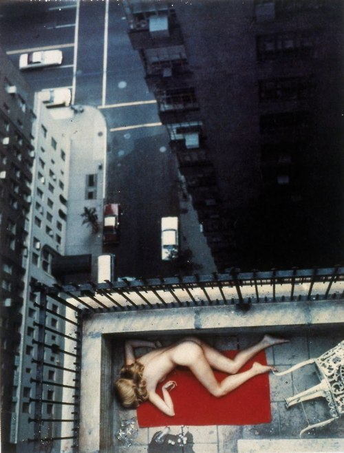 observeschemedestroy:  Helmut Newton - Central Park West, 1977