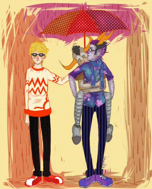 charliedzilla:  Eridan Dave and Tavros I have no idea what I´m doing c: