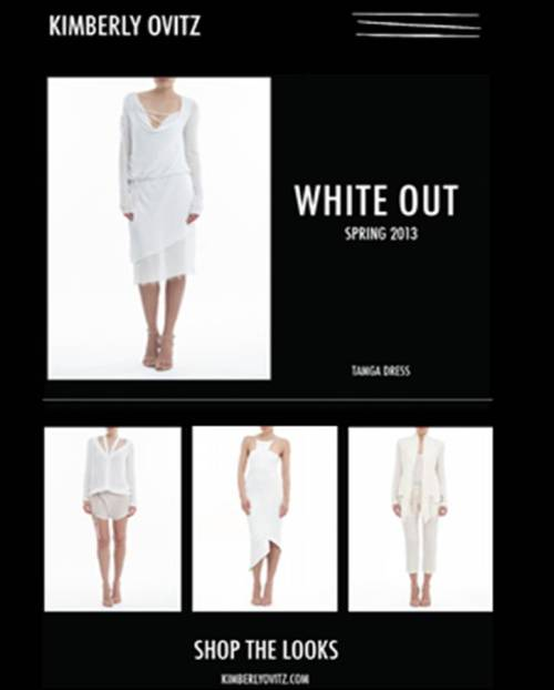 "Fresh new ""White Out"" Styles on www.kimberlyovitz.com/shop-online"