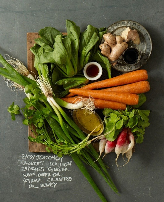 weeheartfood:  ingredient shot from Our Seasonal Table