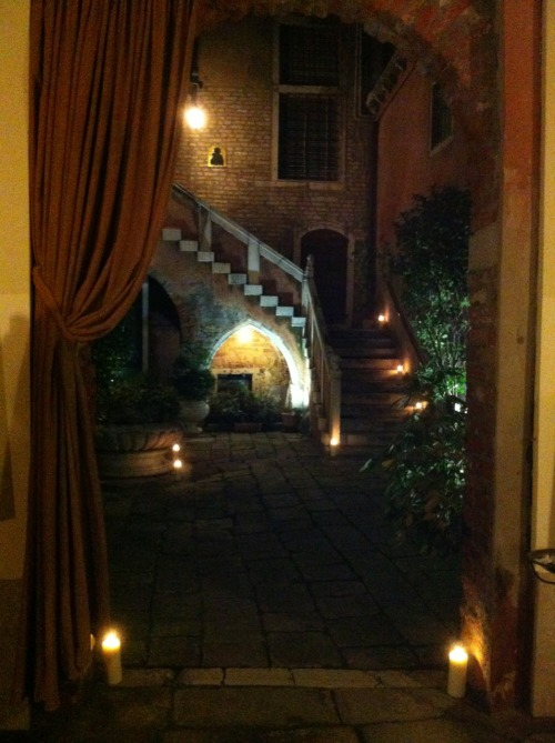 The Palazzo Odoni. Where we stayed in Venice, Italy. Pure magic.