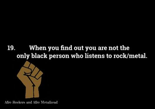 afro metalhead metalhead black girls girls bwwm afro punk quote