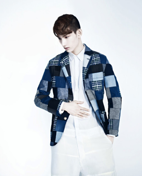 koreanmalemodels:  Park Hyungseop for Vogue Girl, April 2013