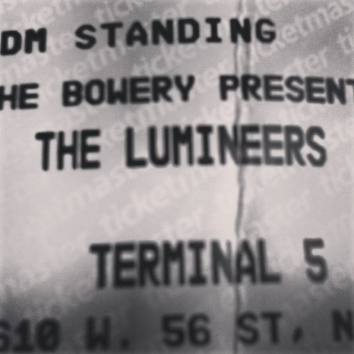 HEY HO… Memory making with the #Lumineers. And @cgorrilla and @audimor. Fun times. #concert #nyc #memorymaking