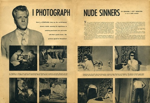 (via Where Danger Lives: EXPOSED Magazine (1955) Complete First Issue!)