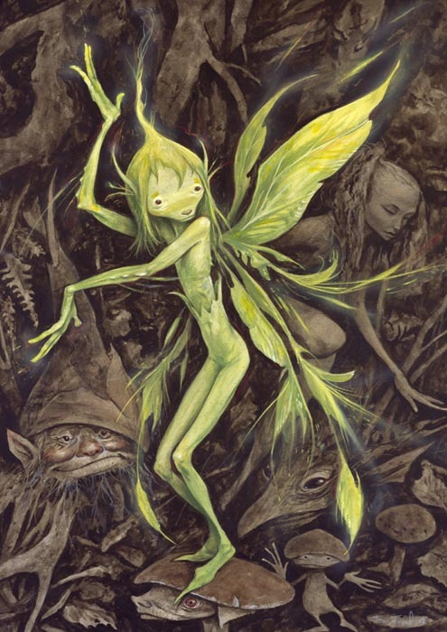 myaloysius:  By Brian Froud (born 1947)